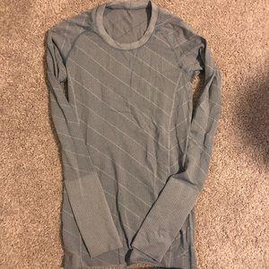 Lululemon Long Sleeved Workout Top